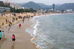 Praia de Dameisha Foto de Stock Royalty Free