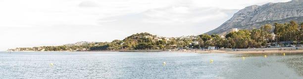 Praia de Denia, Espanha Imagens de Stock