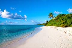 Praia de Dhigurah imagem de stock royalty free