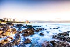 Praia de Dias Fotografia de Stock