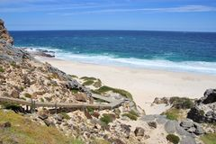 Praia de Dias foto de stock royalty free