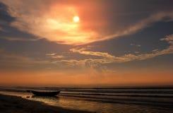 Praia 2 de Digha Foto de Stock