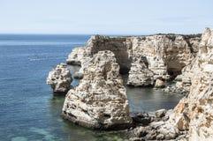 Praia de Dona Ana no Algarve Imagem de Stock Royalty Free