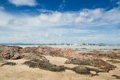 Praia de Dungun Imagens de Stock