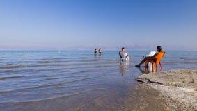 Praia de Ein Gedi Mar inoperante, Israel Imagem de Stock Royalty Free