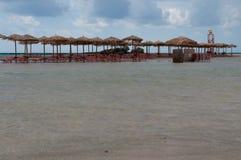 Praia de Elafonissi, Creta, Grécia Foto de Stock