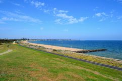 Praia de Elwood Imagem de Stock