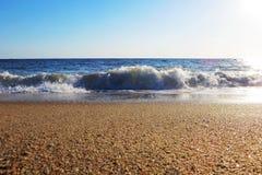 Praia de Faro, Portugal Fotografia de Stock
