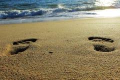 Praia de Faro, Portugal Imagens de Stock Royalty Free