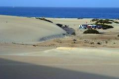 Praia de Fertaventura Fotografia de Stock Royalty Free