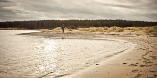 Praia de Findhorn imagens de stock royalty free