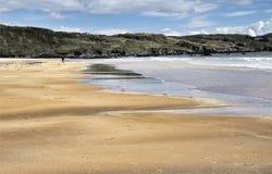 Praia de Fintra Foto de Stock Royalty Free