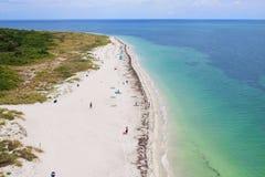 Praia de Florida Fotos de Stock Royalty Free