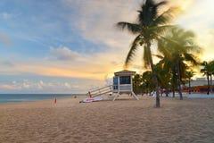 Praia de Fort Lauderdale Foto de Stock