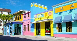 Praia de Fort Myers Imagem de Stock Royalty Free