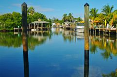 Praia de Fort Myers Foto de Stock Royalty Free