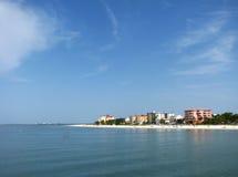 Praia de Fort Myers, Florida foto de stock