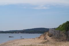 Praia de França - de Córsega - de Figari fotografia de stock royalty free