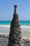 Praia 6 de Fuerteventura Esquinzo Fotografia de Stock Royalty Free
