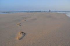 Praia 11 de Fuerteventura Gorreones Sotavento Fotos de Stock