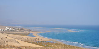 Praia 1 de Fuerteventura Gorreones Sotavento Imagens de Stock