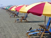 Praia de Galveston Imagem de Stock