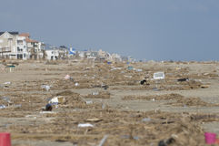Praia de Galveston imagens de stock royalty free