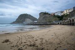 Praia de Getaria Fotos de Stock Royalty Free
