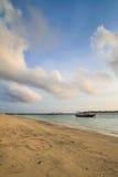 Praia de Gilitrawangan Foto de Stock Royalty Free