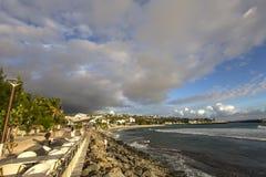 Praia de Gilles de Saint, La Reunion Island, france Imagens de Stock Royalty Free