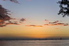 Praia de Gilles de Saint, La Reunion Island, france Fotos de Stock Royalty Free