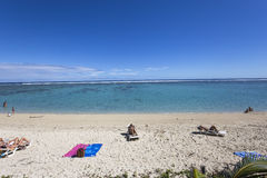 Praia de Gilles de Saint, La Reunion Island, france Fotos de Stock