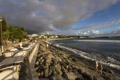 Praia de Gilles de Saint, La Reunion Island, france Foto de Stock Royalty Free
