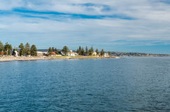 Praia de Glenelg, Sul da Austrália Imagens de Stock Royalty Free