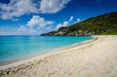 Praia de Gouverneur - St Barths Fotos de Stock Royalty Free