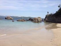 Praia de Goza Foto de Stock