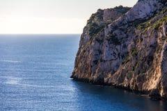 Praia de Granadella do La em Javea, Espanha imagens de stock