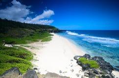 Praia de Gris Gris foto de stock