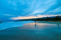 Praia de Hapuna, ilha grande de Havaí fotografia de stock royalty free