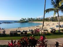 Praia de Havaí Fotografia de Stock Royalty Free