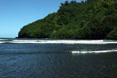 Praia de Havaí imagens de stock