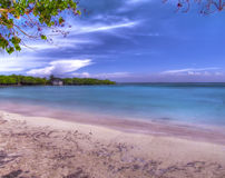 Praia de Hdr Fotografia de Stock