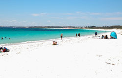 Praia de Hillarys: Austrália Ocidental Fotografia de Stock Royalty Free
