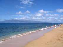 Praia de Honokowai Foto de Stock Royalty Free