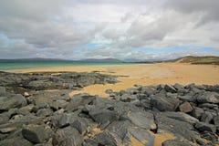 Praia de Horgabost, ilha de Harris, Escócia Imagem de Stock Royalty Free