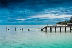 Praia de Hua- Hin. Fotografia de Stock Royalty Free
