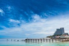 Praia de Hua- Hin. Imagens de Stock Royalty Free