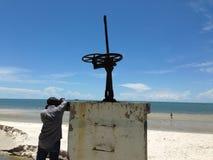 Praia de Hua-Hin Imagens de Stock Royalty Free