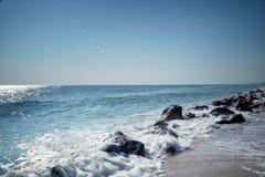 Praia de Hua Hin Fotos de Stock