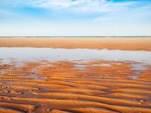 Praia de Hua Hin imagem de stock